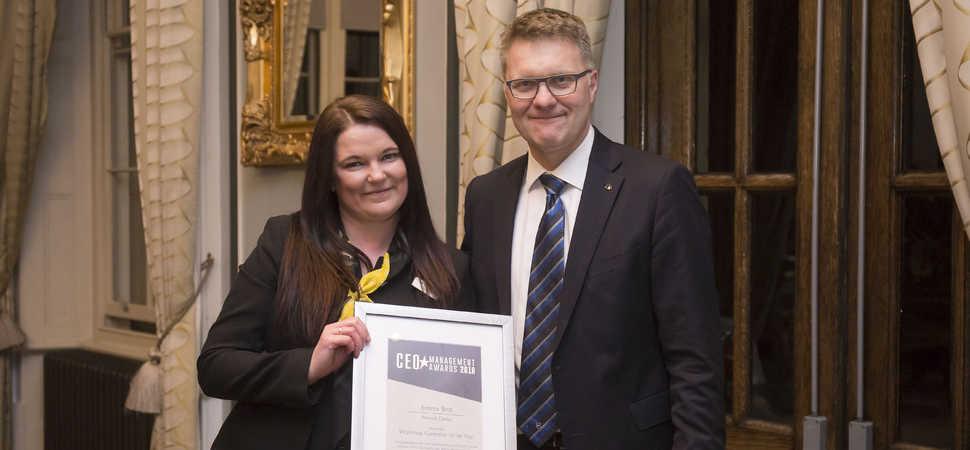 Bristol Street Motors Derby Renault workshop controller receives national award