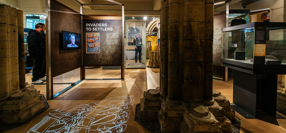Leach Studio help conquer new Vikings exhibition at the Yorkshire Museum