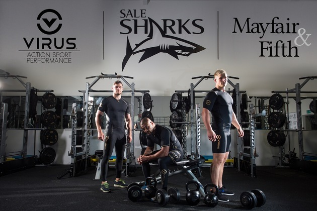 Mayfair & Fifth Launch After Virus Sportswear Deal With Sale Sharks