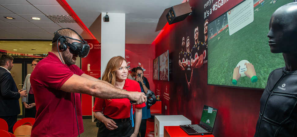 Vodafone Business Lounge Launches at Ricoh Arena
