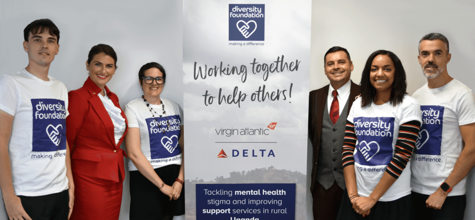 Diversity Travel, Virgin Atlantic and Delta Air Lines Launch Initiative for Ugandan Mental Health Services
