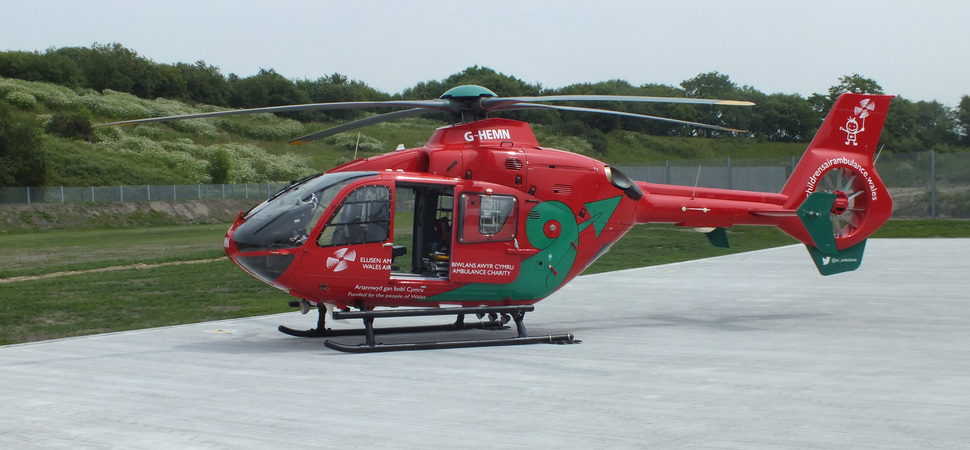 Wales Air Ambulance launches 4th aircraft for Cardiff base