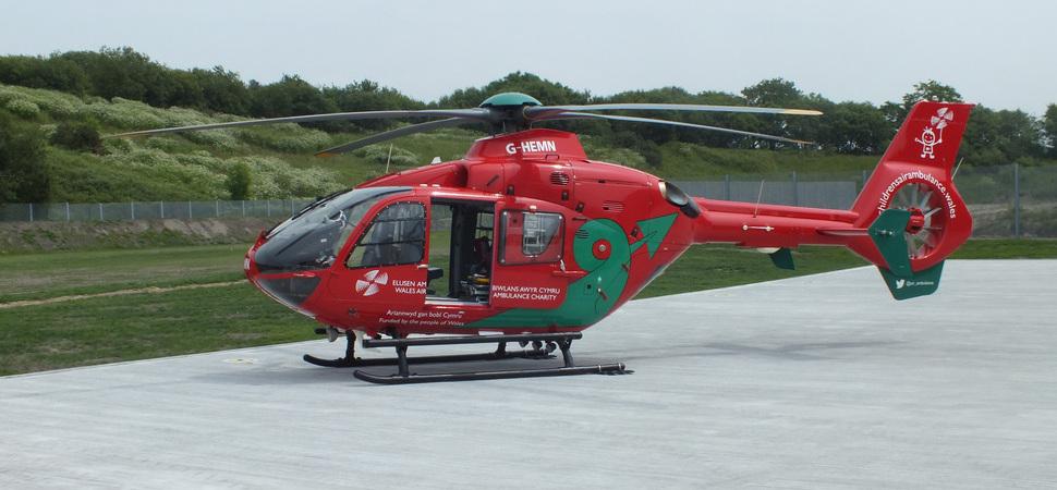 Wales Air Ambulance launches 4th aircraft