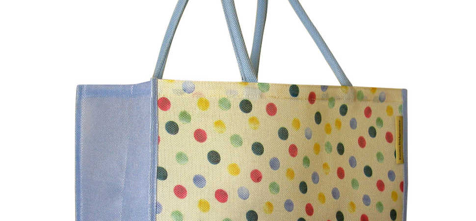 Waitrose and Jutexpo launch reusable shopping bag made from plastic bottles