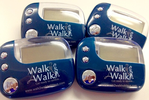 More than 1500 people sign up for free pedometers with Walk2Walk Holidays