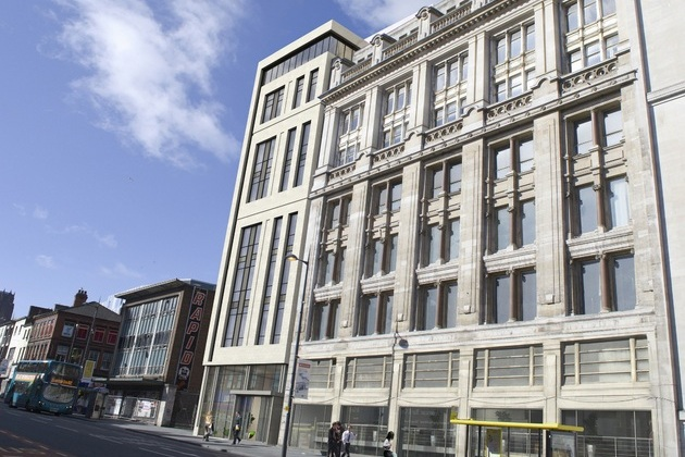 Works starts on site at Liverpool's iconic Watson Building