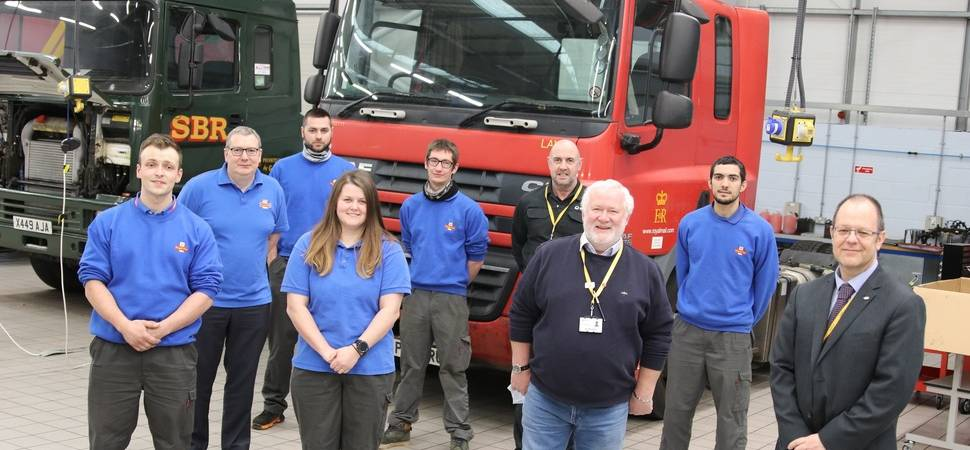 Royal Mail partners with college group WCG on new apprenticeship training scheme