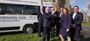 Simon Bailes Peugeot supplies purpose-built minibus to Ripon Community Link