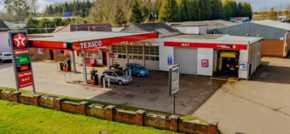 Petrol station sells for nearly 20 per cent above guide price
