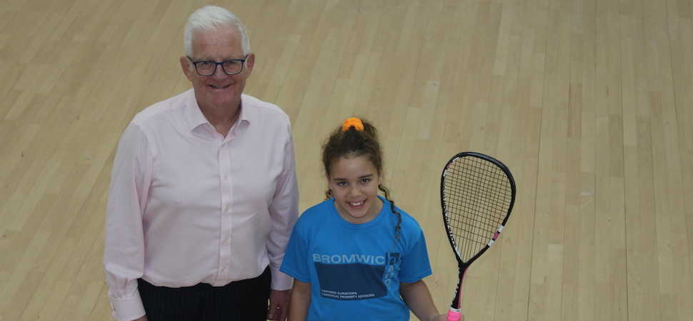 Squash star Lucy plays in US Open thanks to Bromwich Hardy