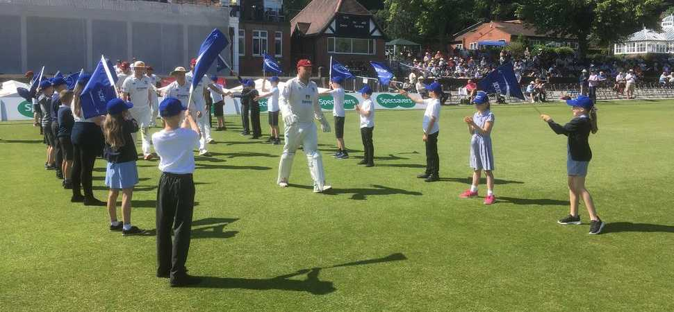 Pattonair supports Chesterfield Borough Council in welcoming hundreds of school children to Cricket festival