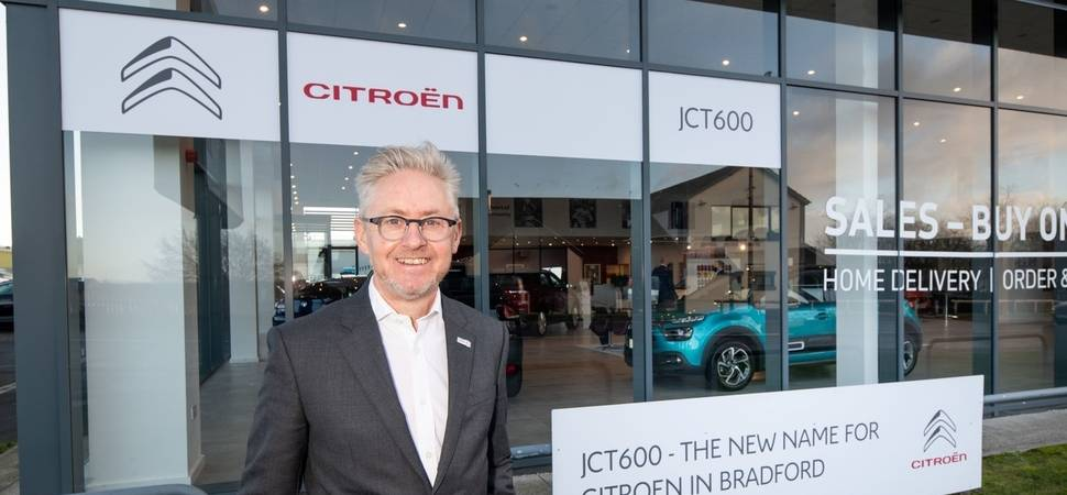 JCT600 completes new Citron dealership in Bradford