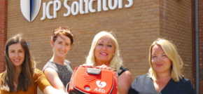 Welsh Law Firm JCP Solicitors Wears Heart on Its Sleeve With Charity Choice