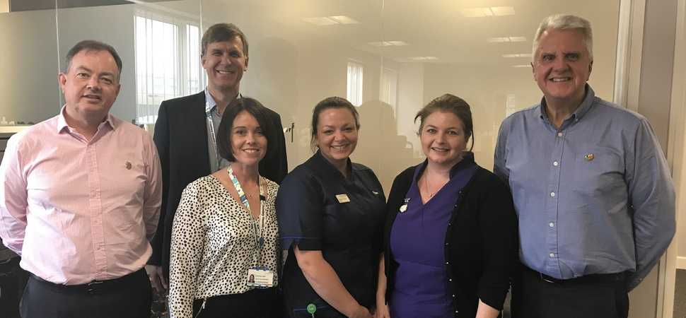 Wexham Park Hospital secures funding for patient sanctuary garden