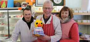 Didsbury traders back children's hospice Easter Chick Hunt
