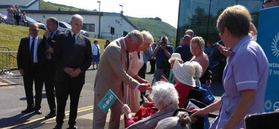 Royal Treat for new Tredegar Care Home