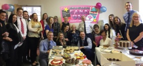 Liverpool firm Paul Crowley & Co host cake-off in aid of Dementia UK