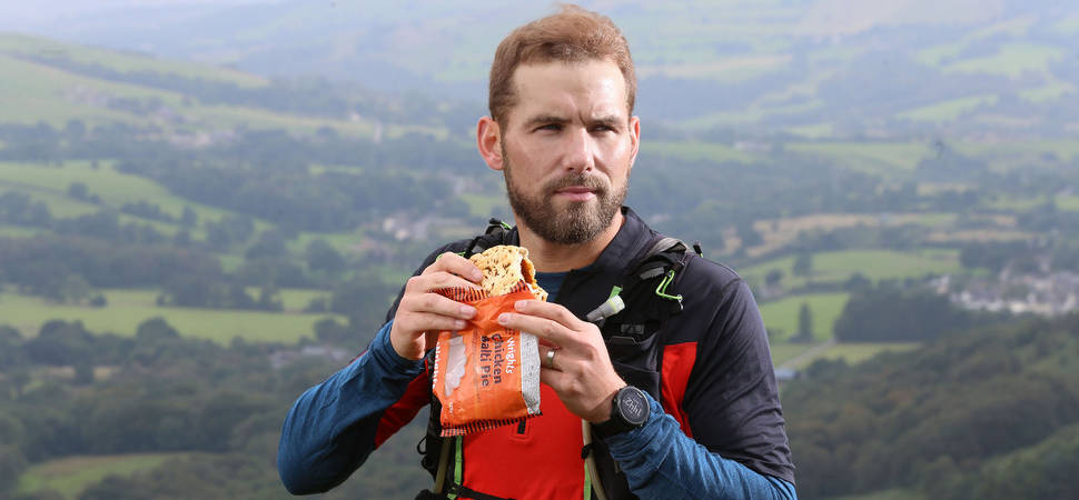 The Pies are Wrights for Ultra-Trail Snowdonia runner