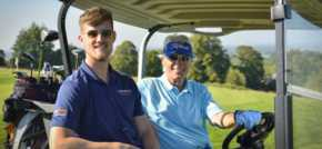 Langricks Golf Day raises £2500 for school money skills programme