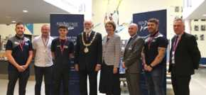 Mayor teams up with Sale Sharks to tackle youth unemployment