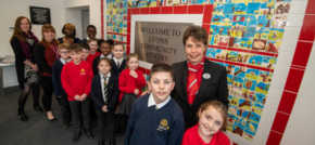 Home is where the art is  Caddington housebuilder encourages local pupils to get arty