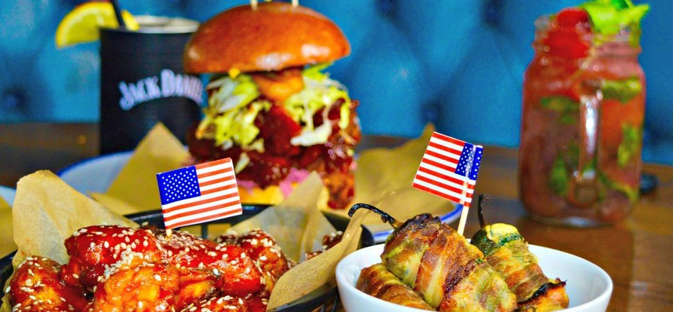 From fifty states to dinner plates Wall of Fame introduces new American menu