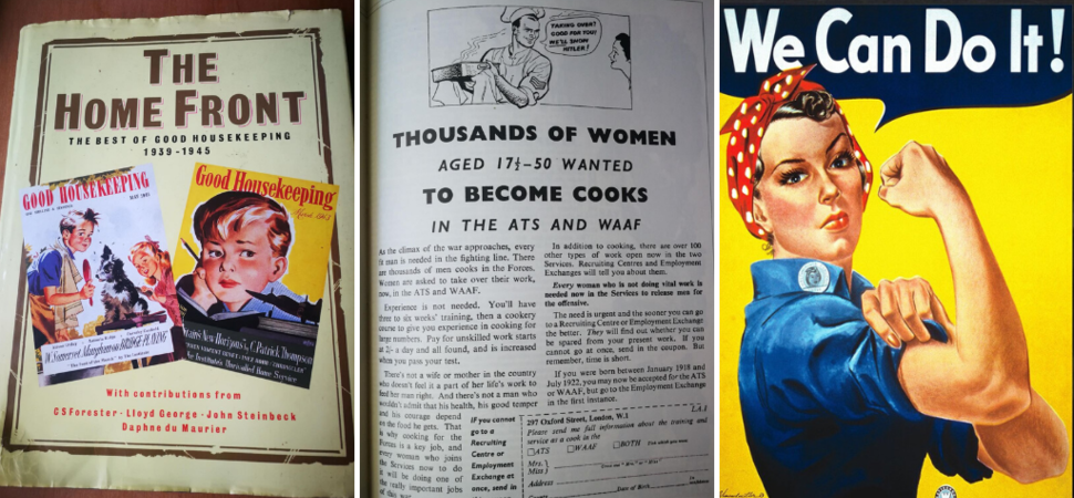 Women & Food in Wartime  - What can we learn from Good Housekeeping?