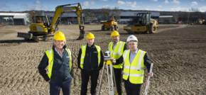 Work starts on new £3.5m Express Engineering test facility