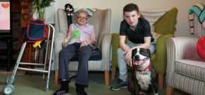 Westerham care home supports work experience programme