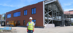Pioneering use of technology saves time in Holyhead school construction