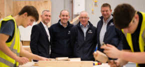 Wynne Construction earns high praise at Wrexham college project
