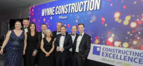Wynne Construction named best SME in construction industry