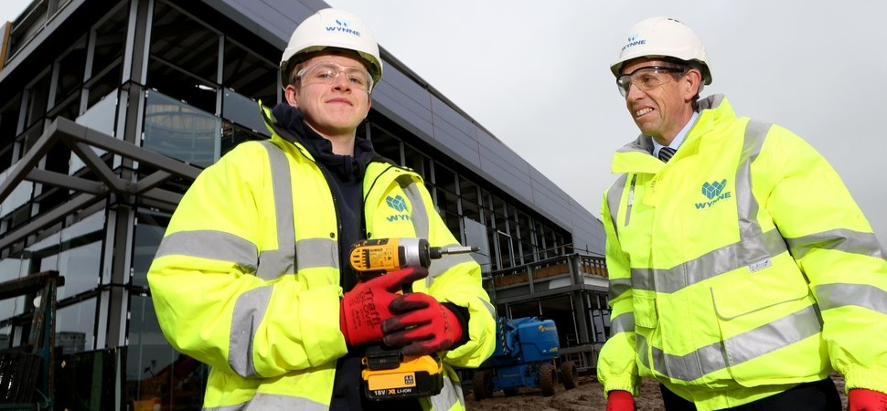 Coleg Cambria students have chance to build on their skills through Wynne