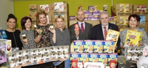 One Vision Housing donates £15,000 worth of Christmas packages