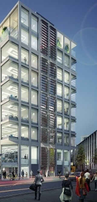 XYZ Building, Spinningfields reaches capacity 12 months ahead of completion