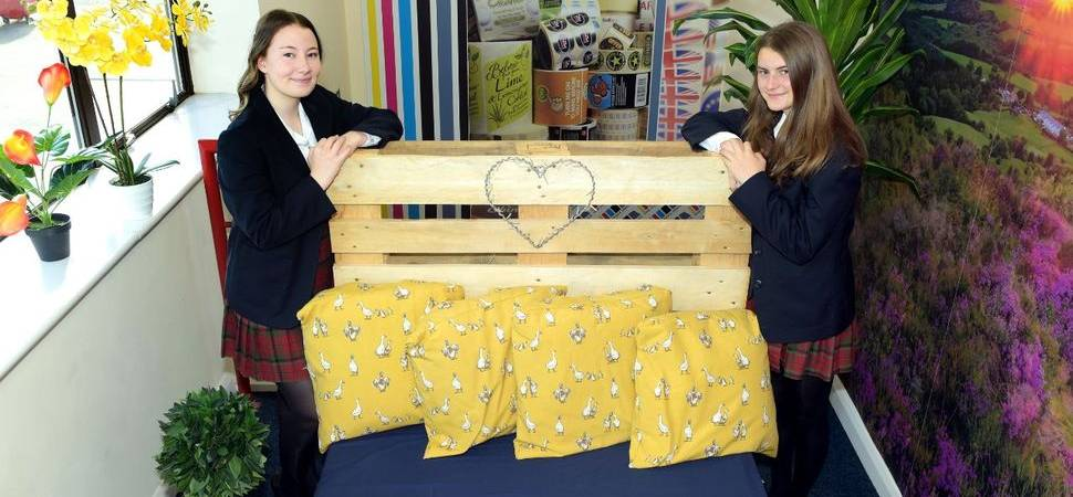 Yarm School pupils upcycling fun