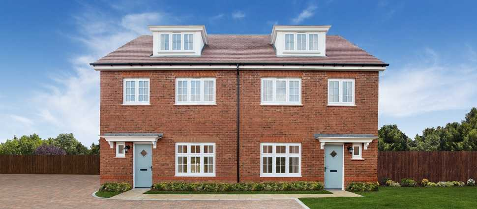 Exclusive look inside Caddington Woods homes