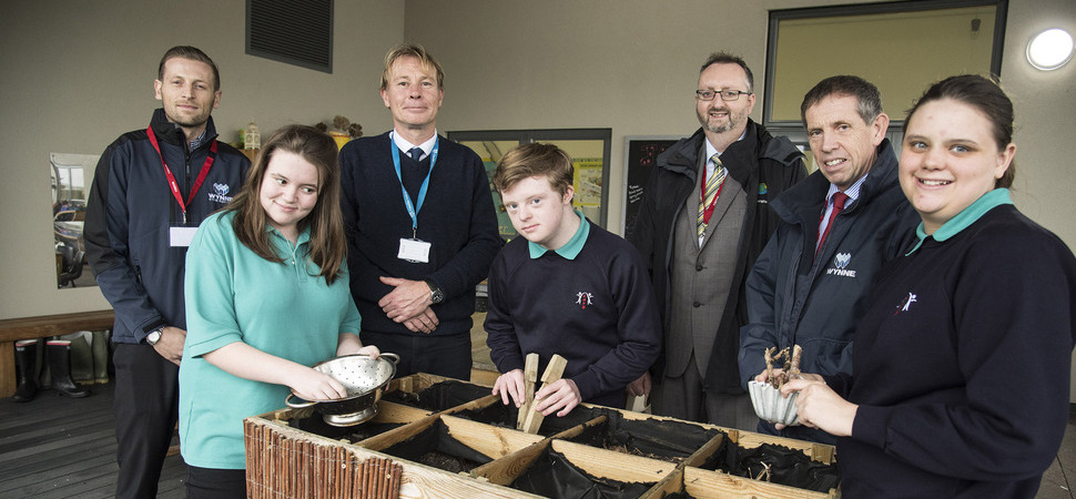 Pupils celebrate Anglesey's first excellent' sustainable building rating