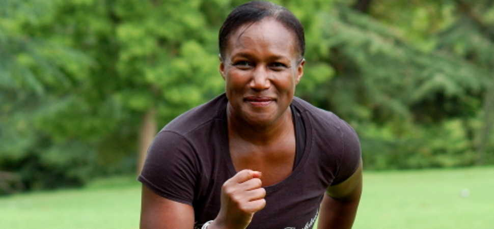 Personal trainer  encourages healthy body images