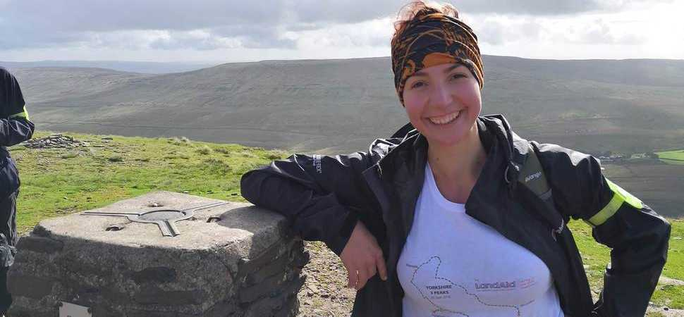 More ups than downs for architect Zlatina during charity trek