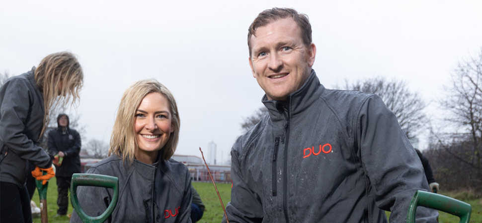 Duo digs deep for Greater Manchesters City of Trees initiative